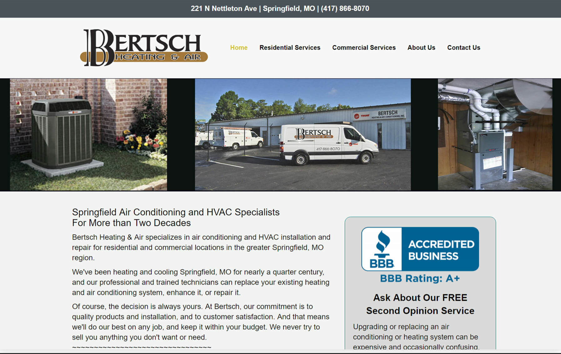 bertsch heating and air-portfolio
