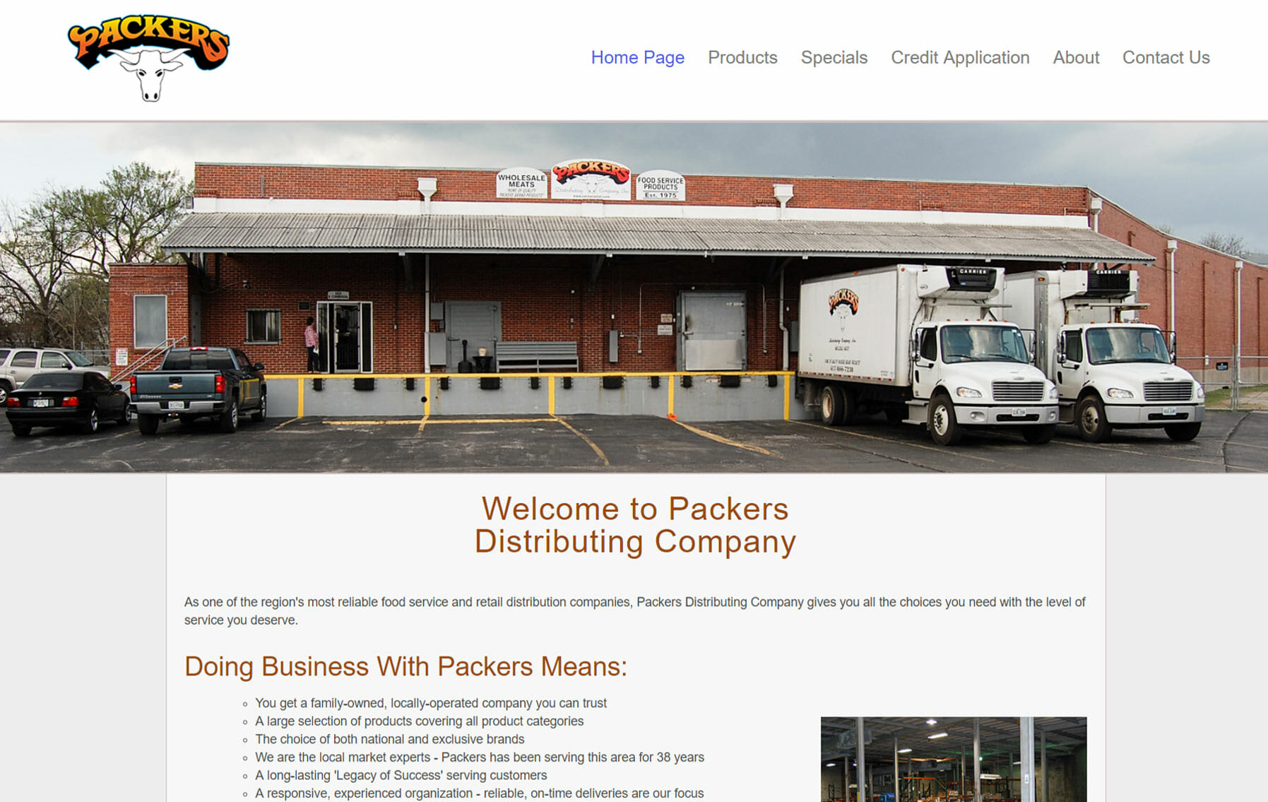 packers distributing-portfolio
