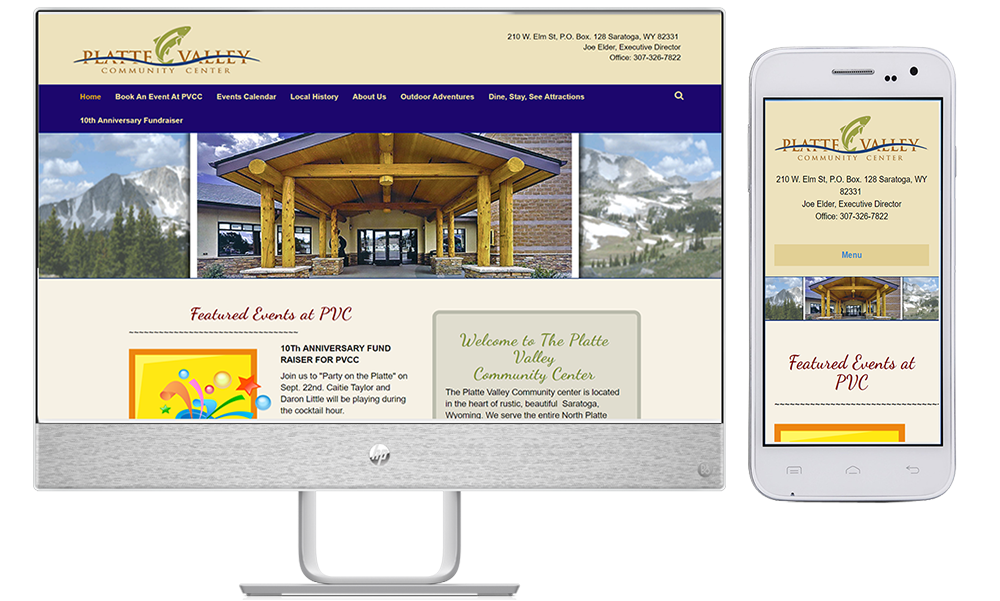site guy portfolio-platte valley community center