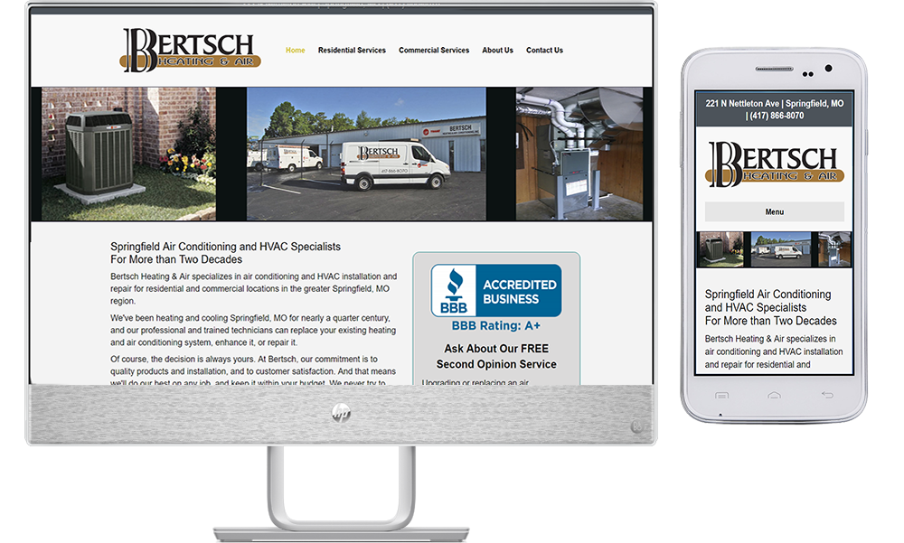site guy portfolio-bertsch heating and air