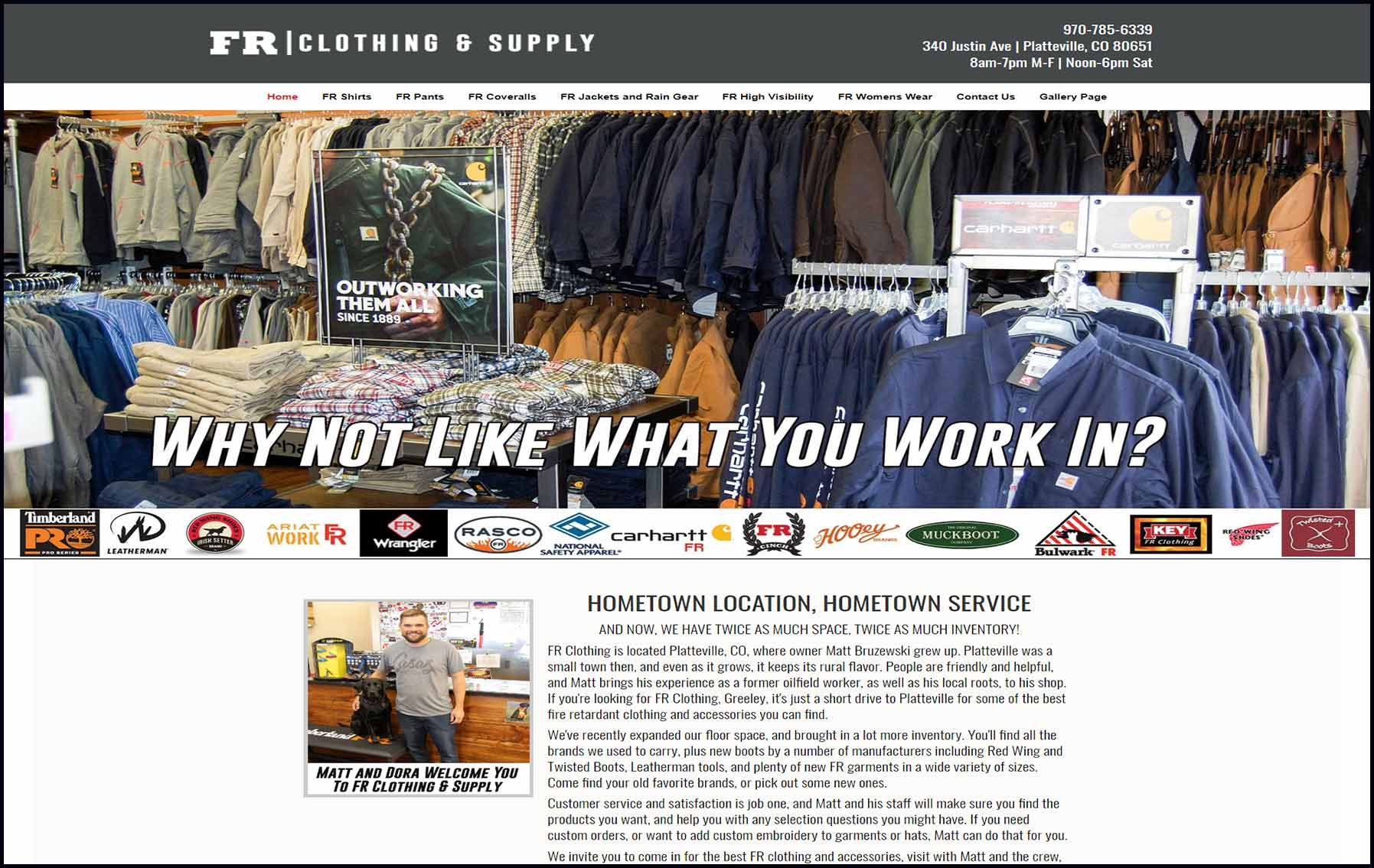 site guy portfolio-fr clothing and supply