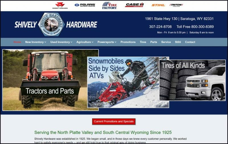 site guy portfolio-shively hardware
