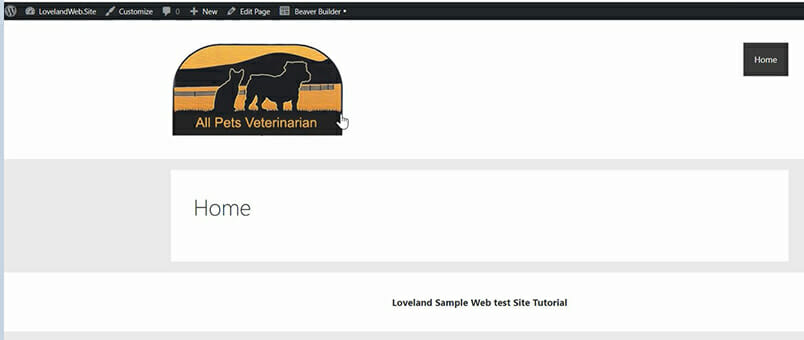 tutorial part two-home page footer