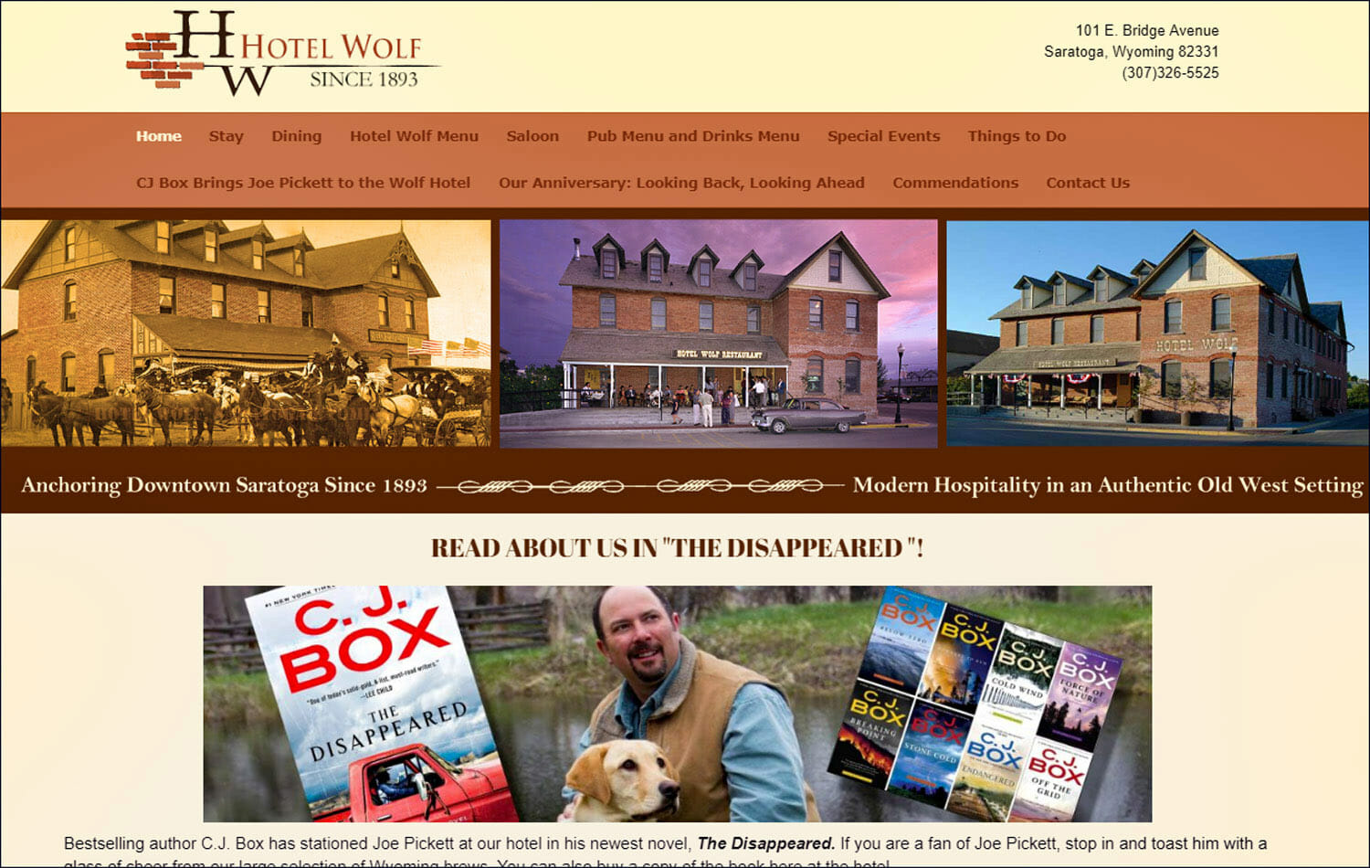 wolf hotel home page